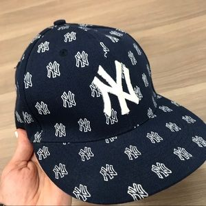 Other - NY Yankees Monogram Fitted Hat